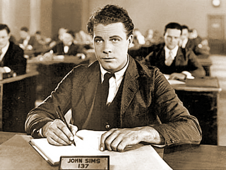 James Murray in The Crowd (1928)