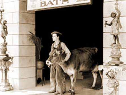 Buster Keaton in Go West (1925)