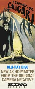 Cabinet of Dr Caligari on Blu-ray Disc