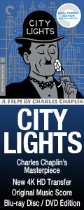 City Lights on Criterion BD/DVD Combo