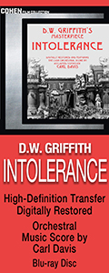 Intolerance on Blu-ray Disc
