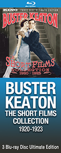 Buster Keaton Shorts on Blu-ray Disc