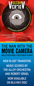 Man with the Movie Camera Blu-ray