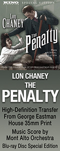 The Penalty on Blu-ray