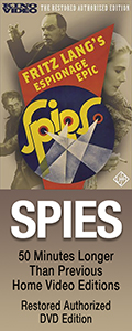 Spies Restored on DVD