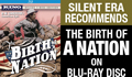 Birth of a Nation on Blu-ray