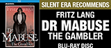 Dr Mabuse on Blu-ray