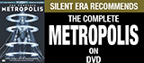 Complete Metropolis on DVD