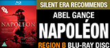 Napoléon on Region B Blu-ray