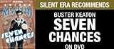 Seven Chances on DVD