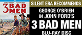 3 Bad Men on Blu-ray