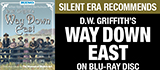 Way Down East on Blu-ray